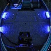 Blue Water LED Deck LED Lighting - Front & Rear Deck
