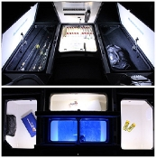 Blue Water LED Standard Boat Compartment LED Package