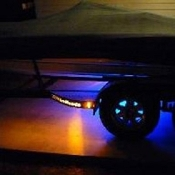 Blue Water LED Trailer Cutout Step LED Lighting