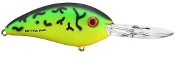 Bomber Lures Fat Free Shad Jr. Fire Tiger