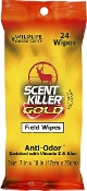 Wildlife Research Center Scent Killer Gold Field Wipes 24 pack