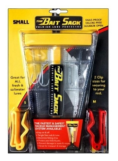 Cal Coast Fishing Bait Sack Clear Small